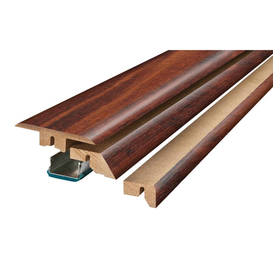 SimpleSolutions 2.37-in x 78.74-in Tulipwood 4-n-1 Floor Moulding