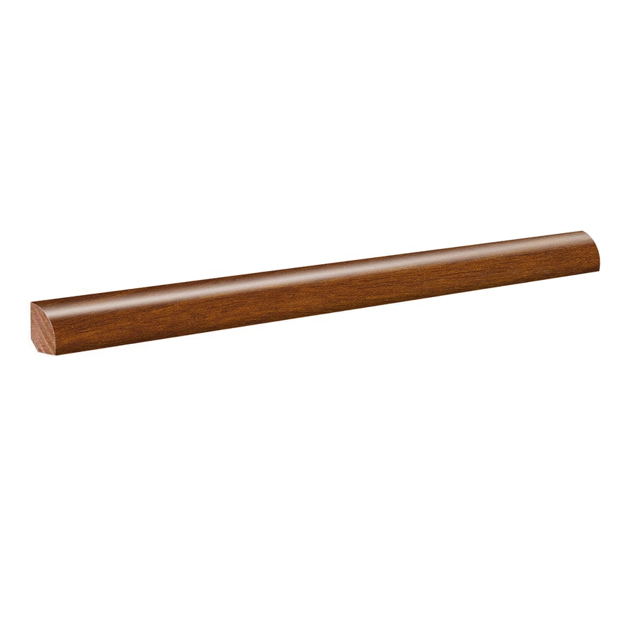 SimpleSolutions 0.75-in x 94.48-in Vera Mahogany Quarter Round Floor Moulding