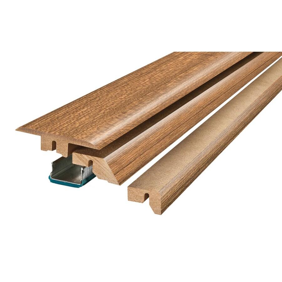 SimpleSolutions 2.37-in x 78.74-in Eucalyptus 4-N-1 Floor Moulding
