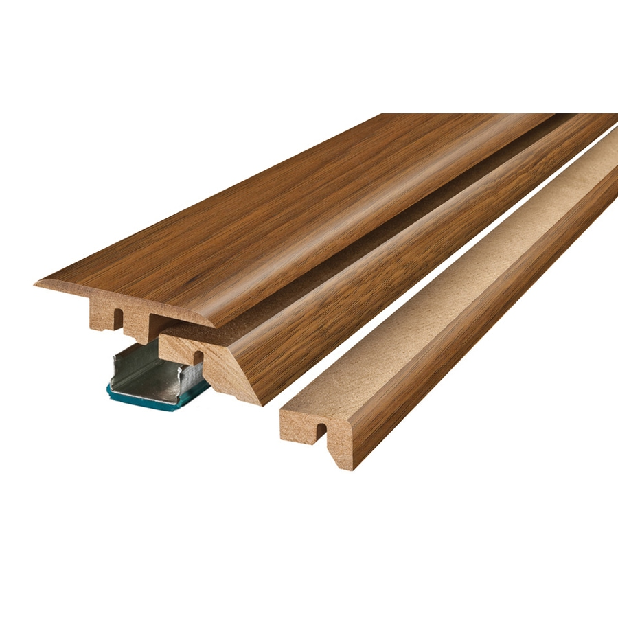 Pergo 2.37-in x 78.74-in Medium Hickory 4-N-1 Floor Moulding