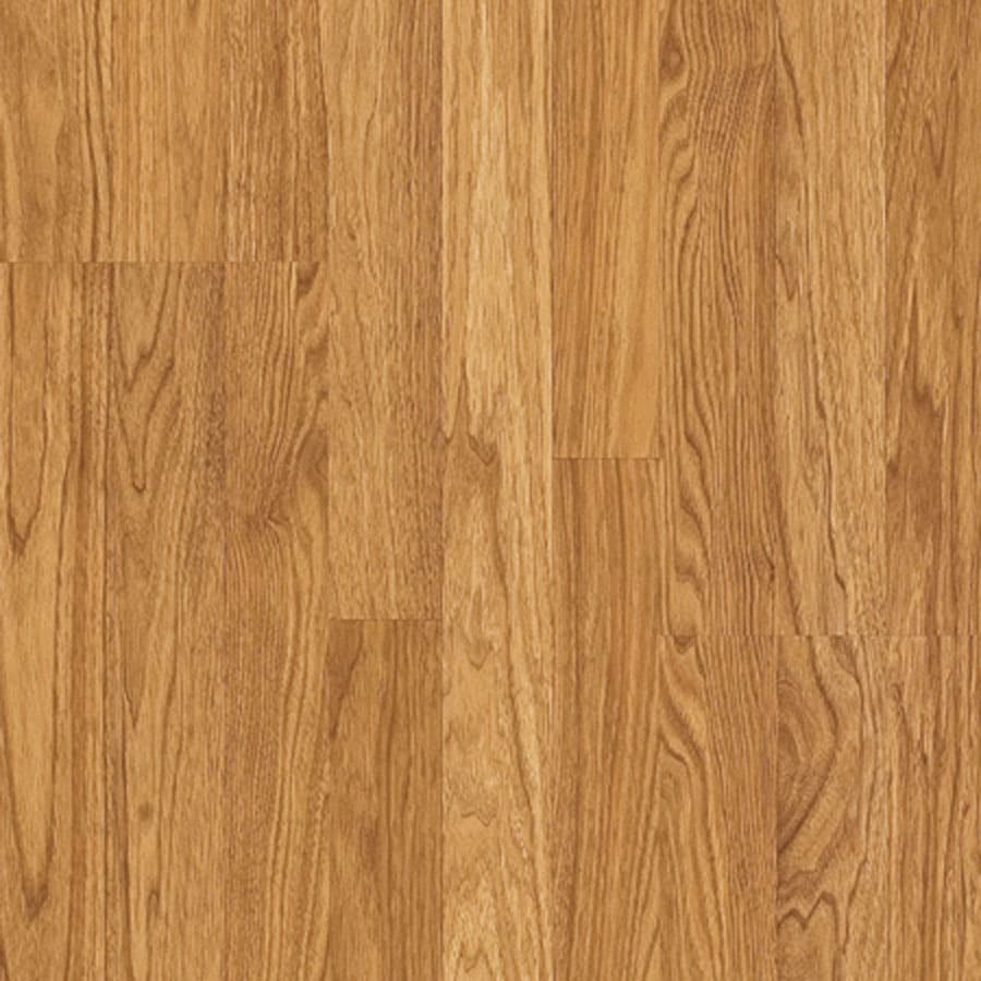 Pergo MAX Embossed Hickory Wood Planks Sample (Goldenrod)