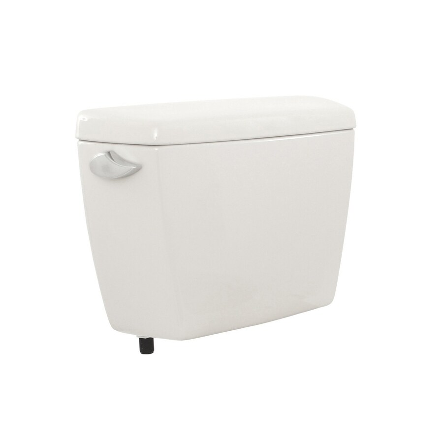 TOTO Drake Cotton White 1.6-GPF (6.06-LPF) 12 Rough-In Single-Flush High-Efficiency Toilet Tank