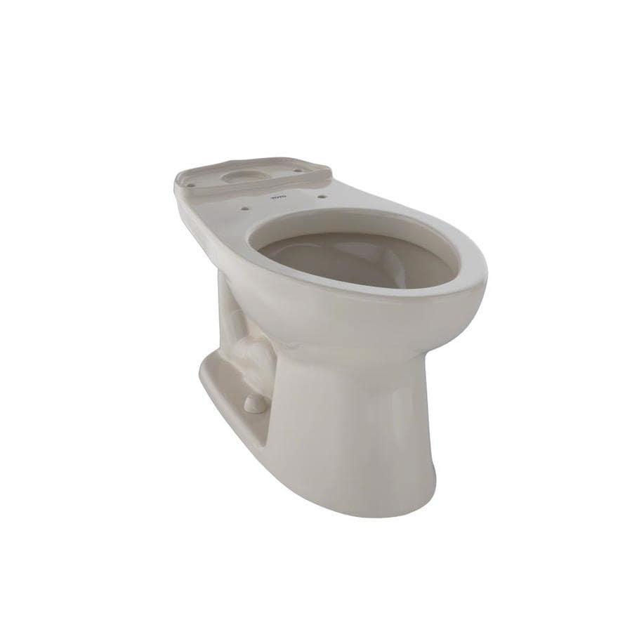 TOTO Eco Drake Standard Height Bone 12 Rough-In Elongated Toilet Bowl