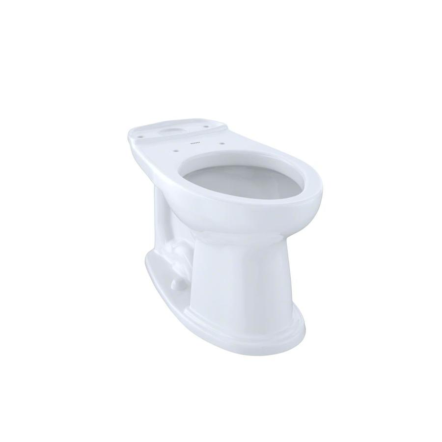 TOTO Eco Dartmouth Chair Height Cotton White 12 Rough-In Elongated Toilet Bowl