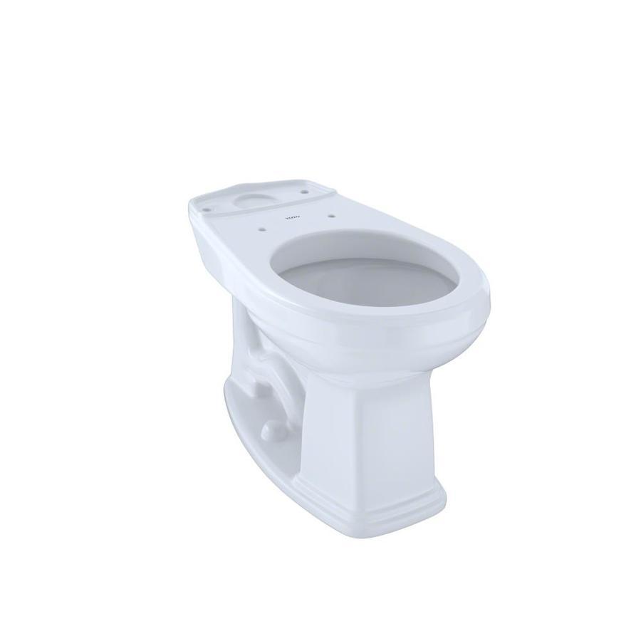 TOTO Promenade Chair Height Cotton White 12 Rough-In Round Toilet Bowl
