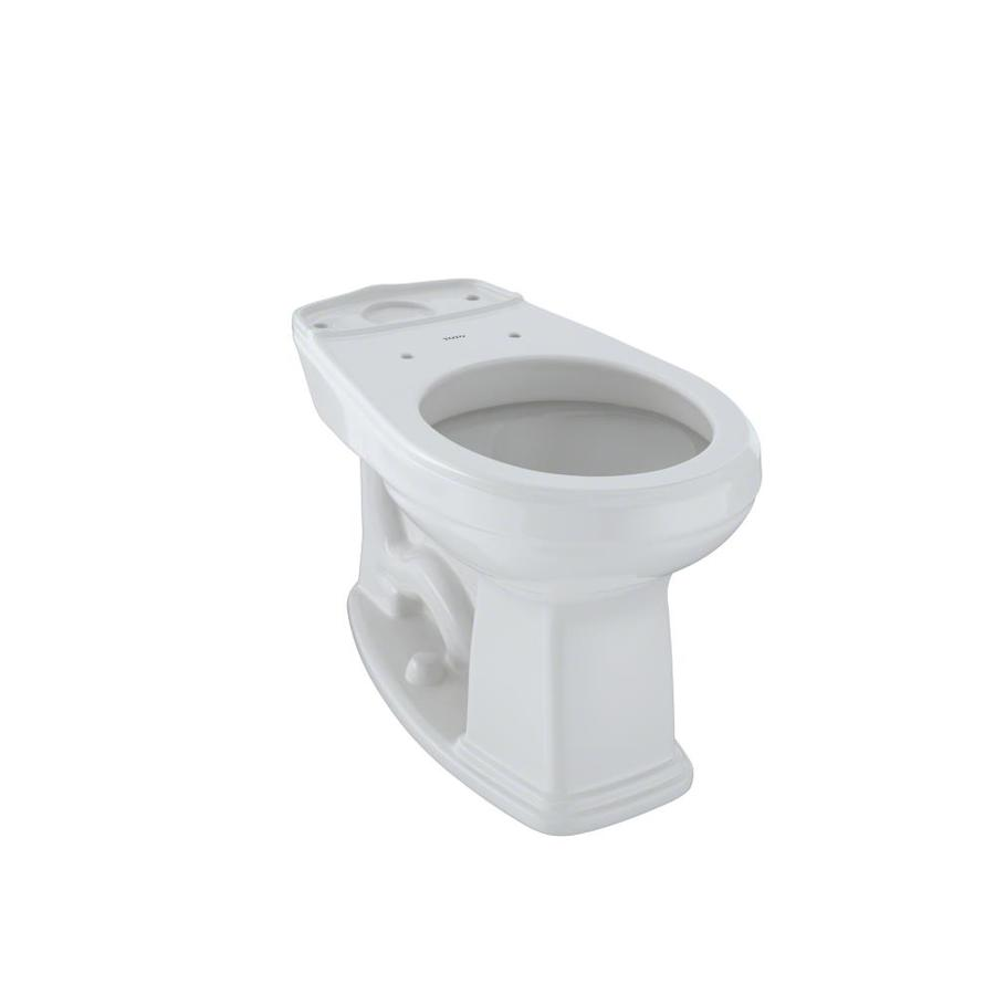 TOTO Promenade Chair Height Colonial White 12 Rough-In Round Toilet Bowl