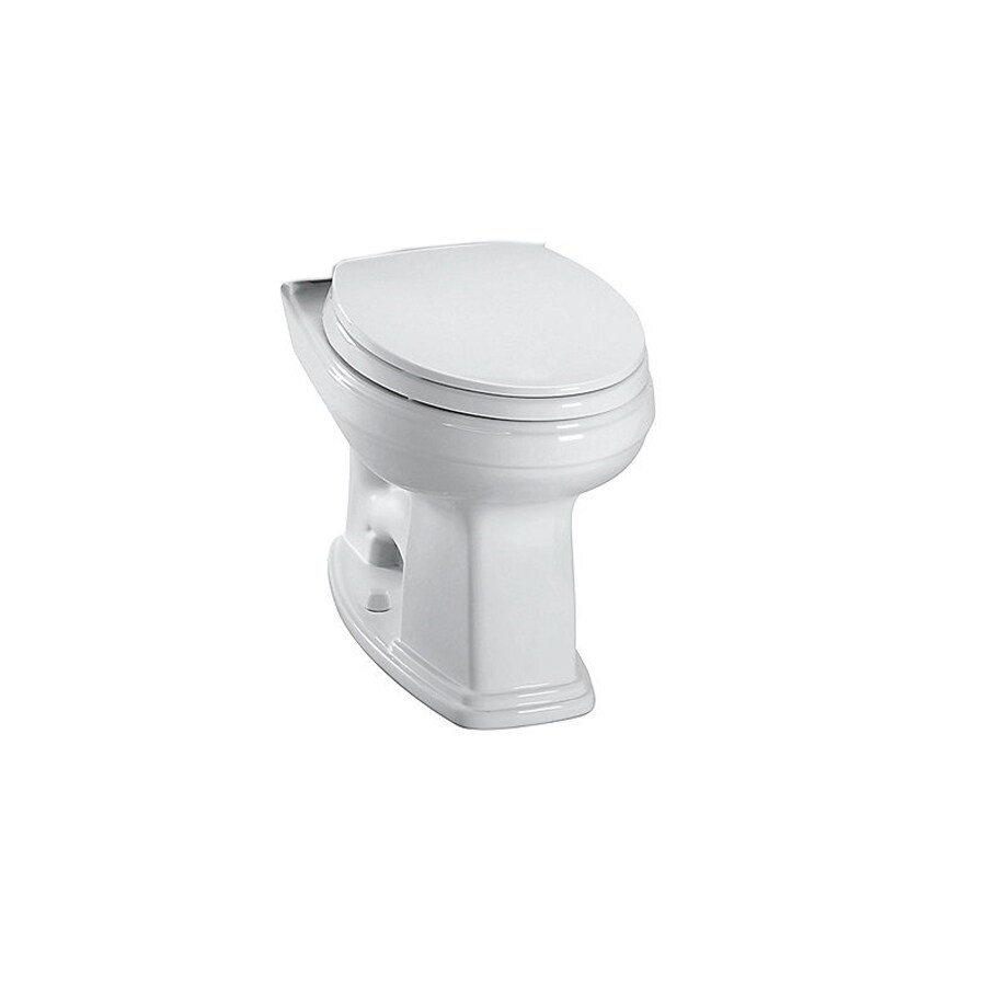 TOTO Promenade Chair Height Cotton White 12 Rough-In Elongated Toilet Bowl