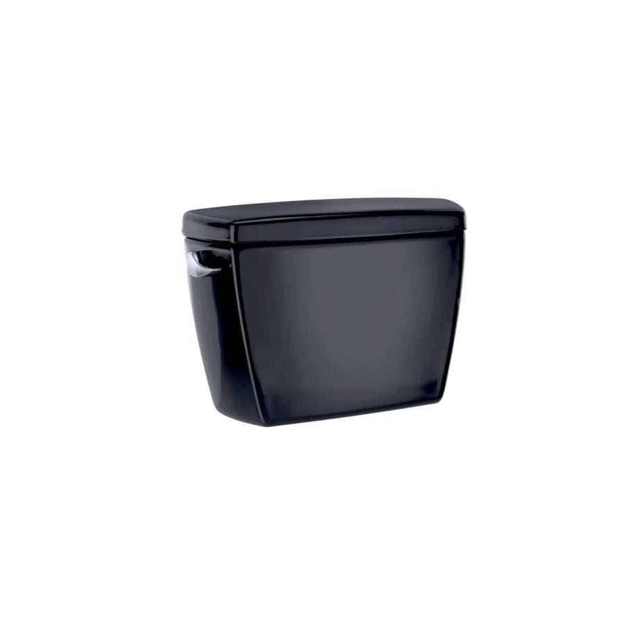 TOTO Drake Ebony 1.28-GPF (4.85-LPF) 12 Rough-In Single-Flush High-Efficiency Toilet Tank