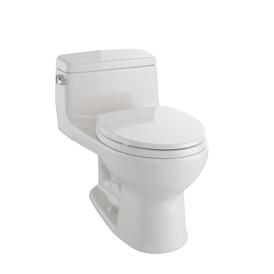 TOTO Eco Supreme Sedona Beige 1.28-GPF (4.85-LPF) 12 Rough-In WaterSense Round 1-Piece Standard Height Toilet
