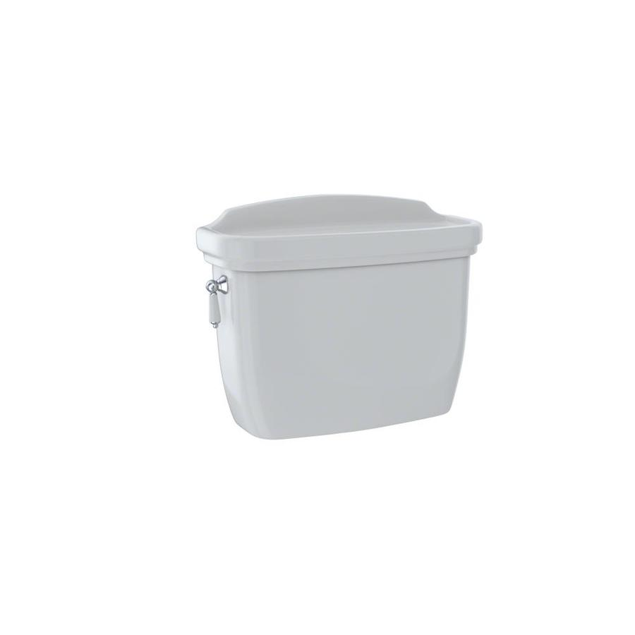 TOTO Dartmouth Colonial White 1.28-GPF (4.85-LPF) 12 Rough-In Single-Flush High-Efficiency Toilet Tank
