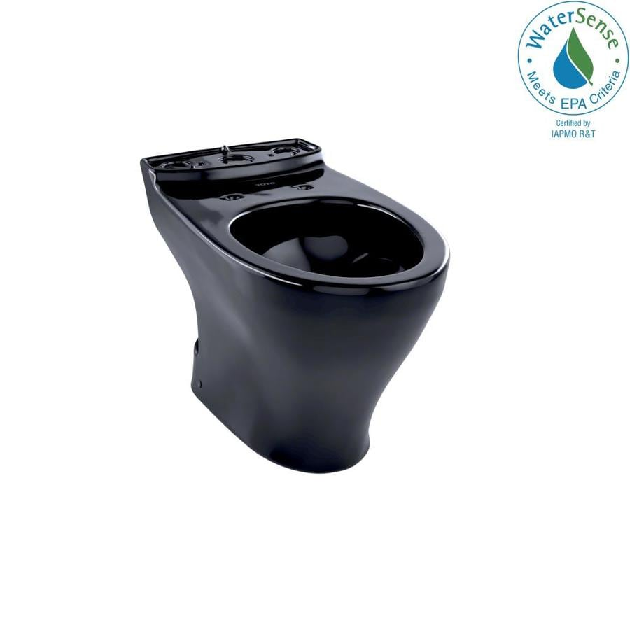 TOTO Aquia Chair Height Ebony 12 Rough-In Elongated Toilet Bowl