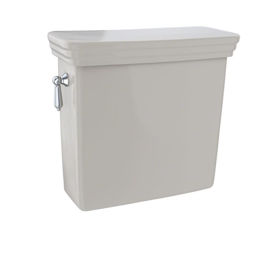 TOTO Promenade Bone 1.6-GPF (6.06-LPF) 12 Rough-In Single-Flush High-Efficiency Toilet Tank