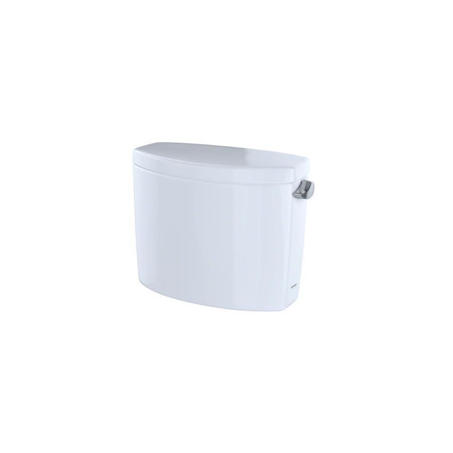 TOTO Drake II Cotton White 1.28-GPF (4.85-LPF) 12 Rough-In Single-Flush High-Efficiency Toilet Tank