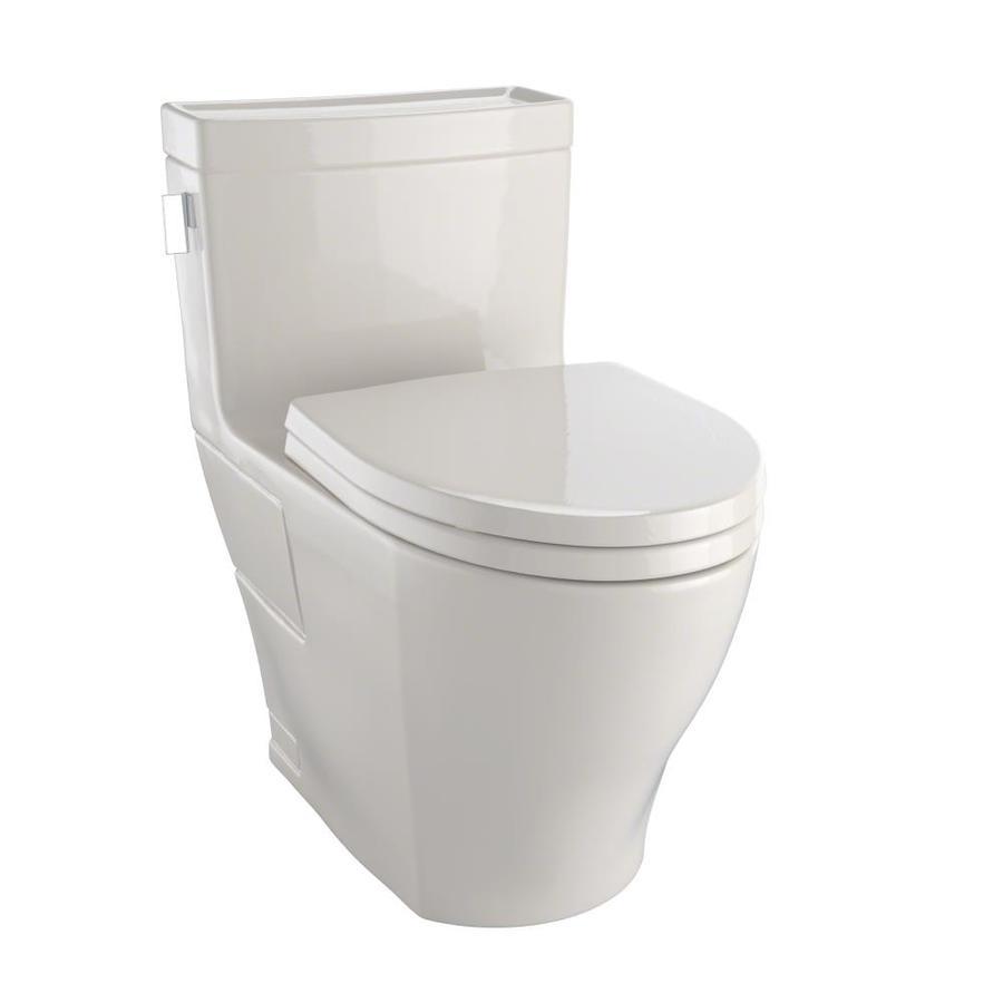 TOTO Legato Bone 1.28-GPF (4.85-LPF) 12 Rough-In WaterSense Elongated 1-Piece Chair Height Toilet