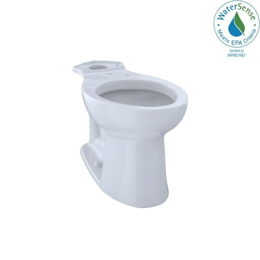 TOTO Entrada Chair Height Cotton White 12 Rough-In Elongated Toilet Bowl