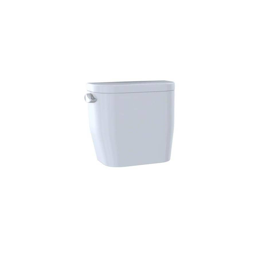 TOTO Entrada Cotton White 1.28-GPF (4.85-LPF) 12 Rough-In Single-Flush High-Efficiency Toilet Tank