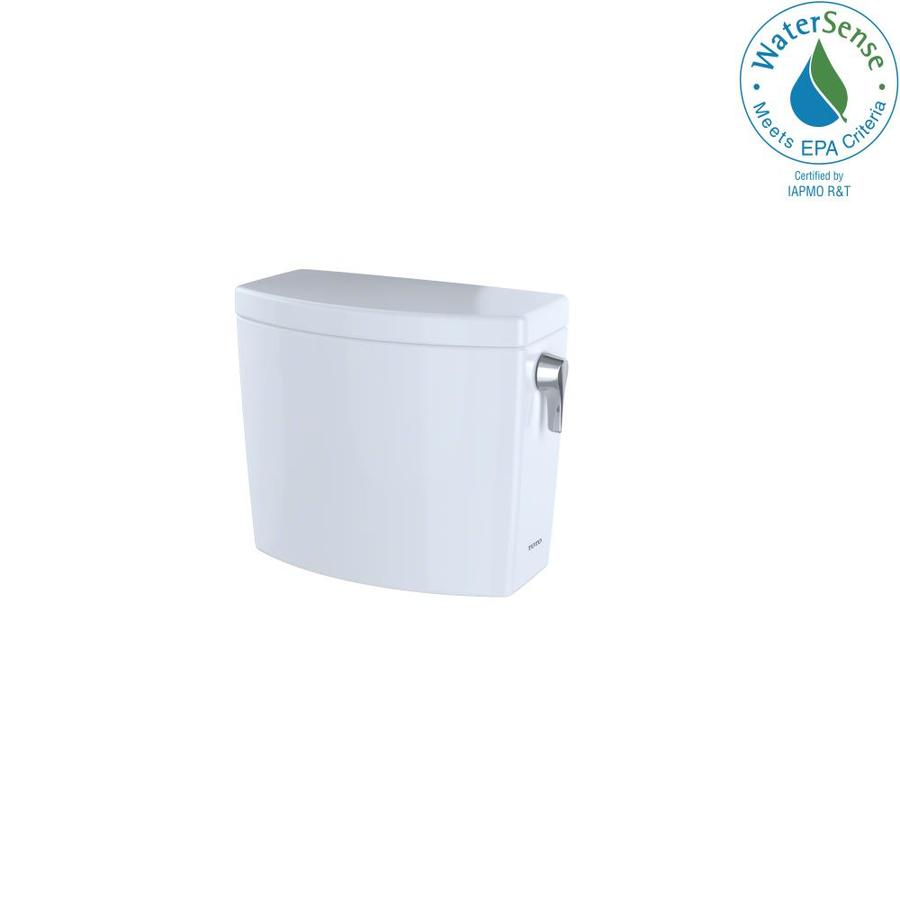 TOTO Drake II Cotton White 1.0-GPF (3.79-LPF) 12 Rough-In Single-Flush High-Efficiency Toilet Tank
