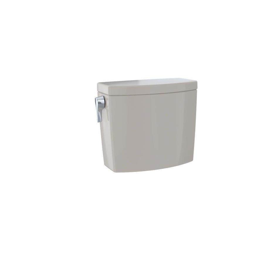 TOTO Drake II Bone 1.0-GPF (3.79-LPF) 12 Rough-In Single-Flush High-Efficiency Toilet Tank