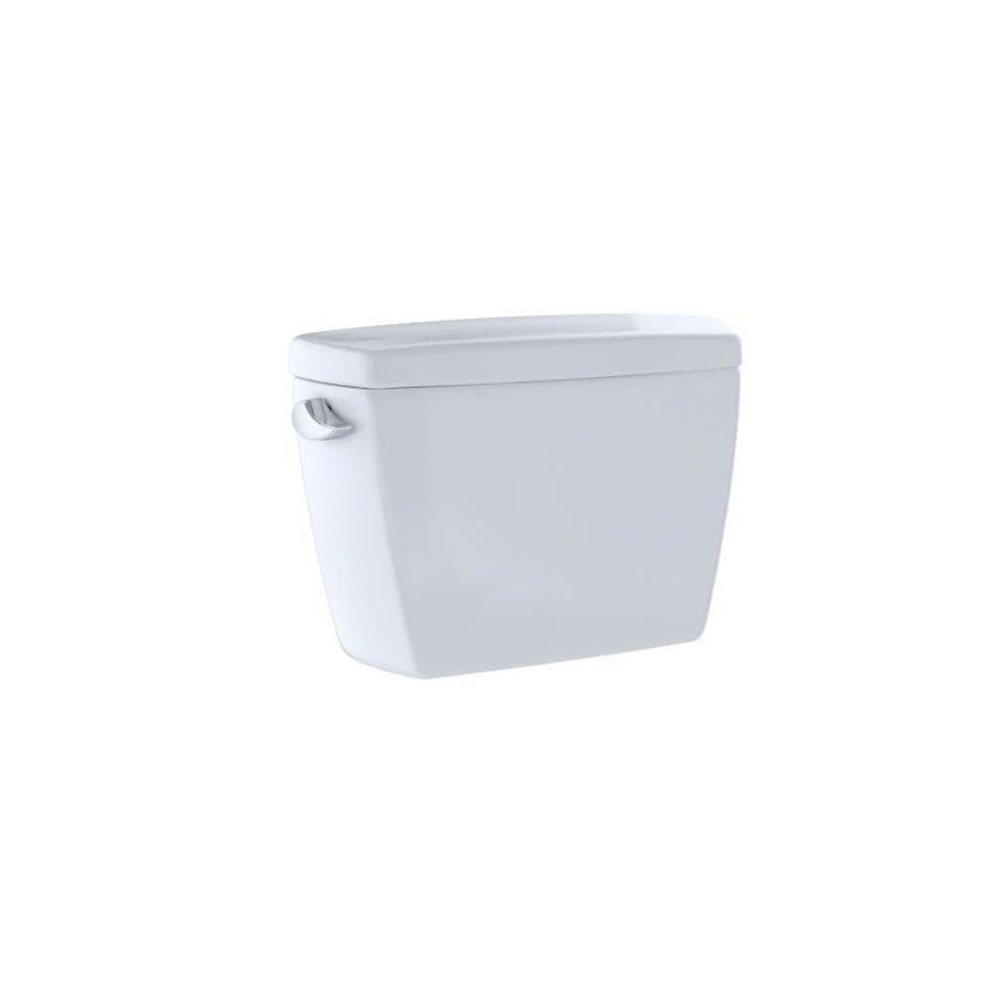 TOTO Drake Cotton White 1.28-GPF (4.85-LPF) 12 Rough-In Single-Flush High-Efficiency Toilet Tank