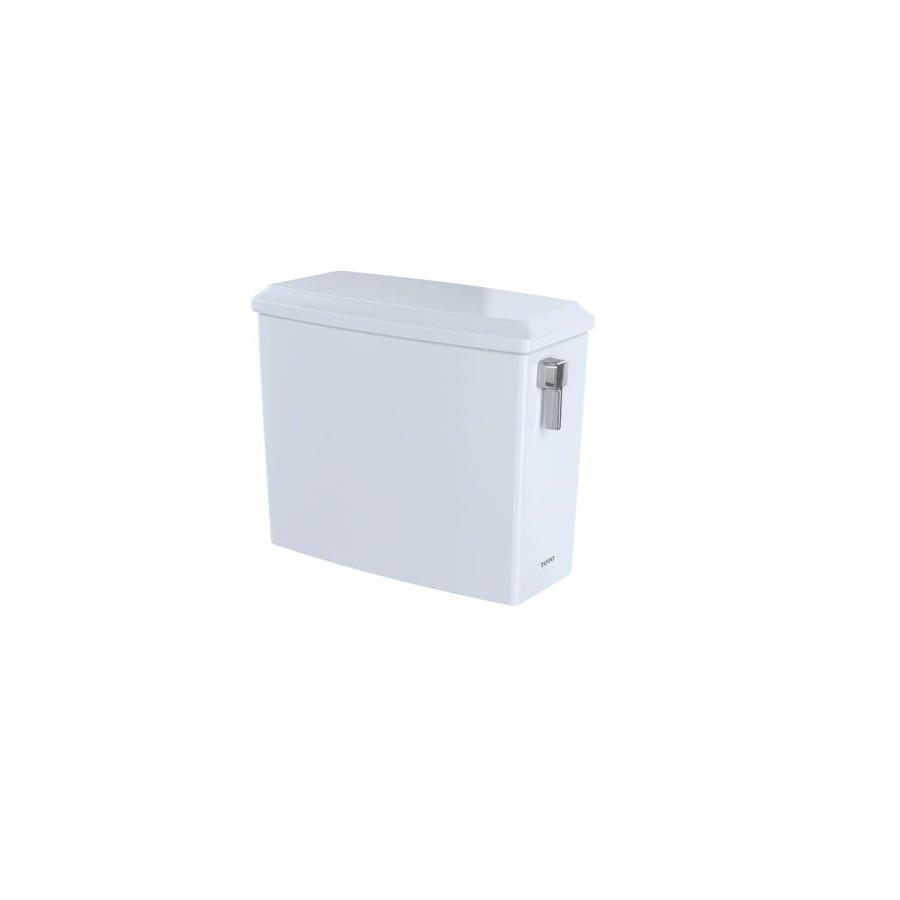 TOTO Connelly Cotton White 1.6; 0.9-GPF (6.06; 3.41-LPF) 12 Rough-In Dual-Flush High-Efficiency Toilet Tank