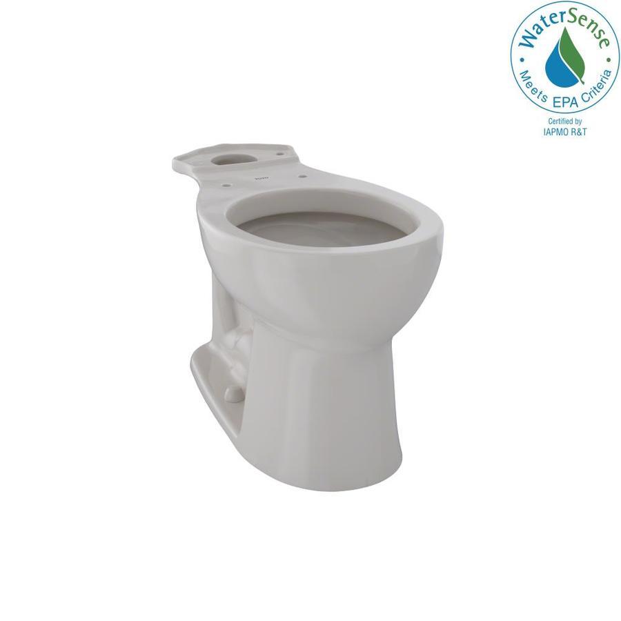 TOTO Entrada Chair Height Sedona Beige 12 Rough-In Round Toilet Bowl