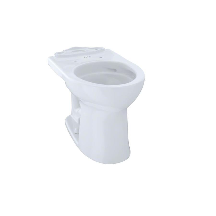 TOTO Drake II Chair Height Cotton White 12 Rough-In Round Toilet Bowl