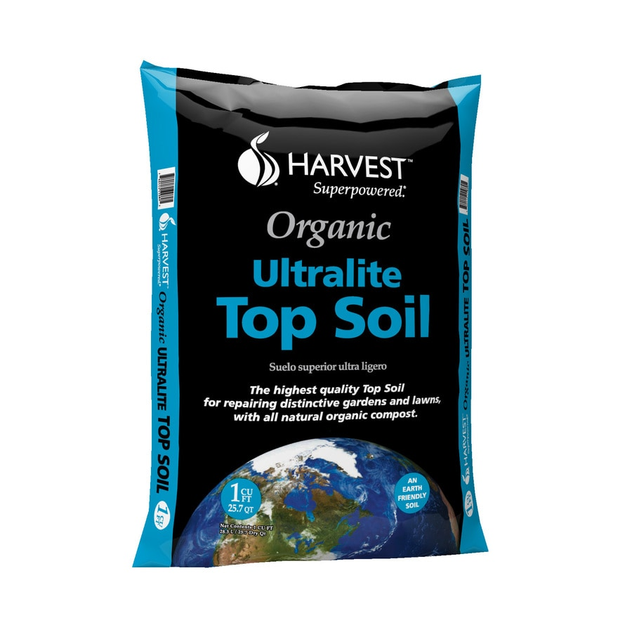 GARDEN PRO 1-cu ft Organic Top Soil