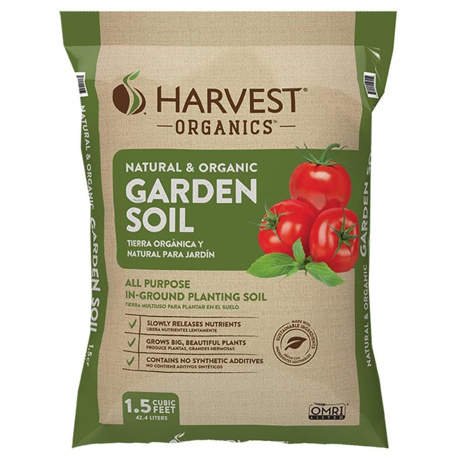 Harvest Organic Organic Harvest Organics 1 5 Cu Ft Organic Garden Soil In The Soil Department At Lowes Com