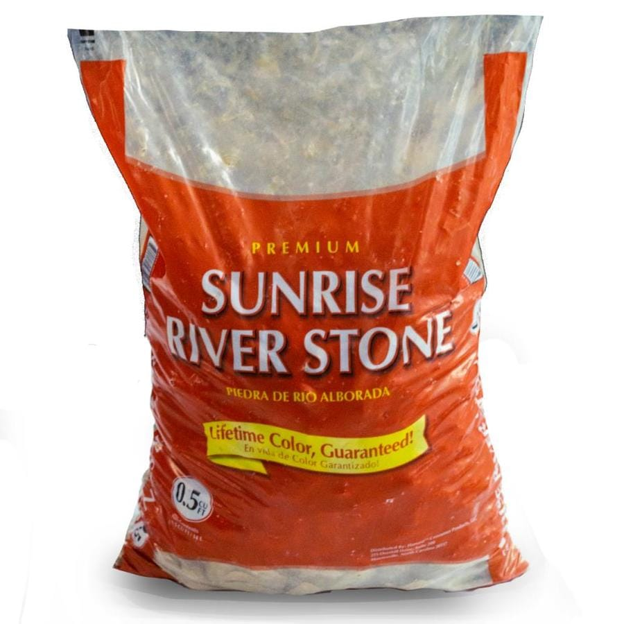 GARDEN PRO 0.5-cu ft Sunrise River Stone