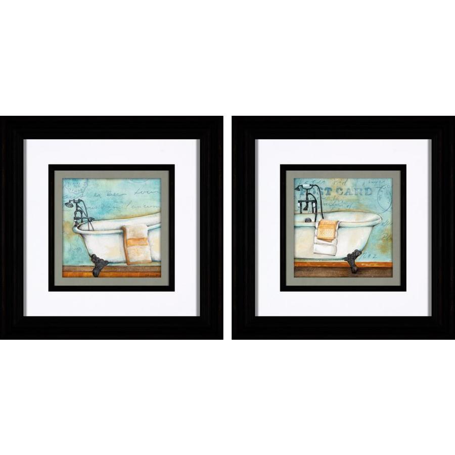 12-in W x 12-in H Bath Prints Wall Art