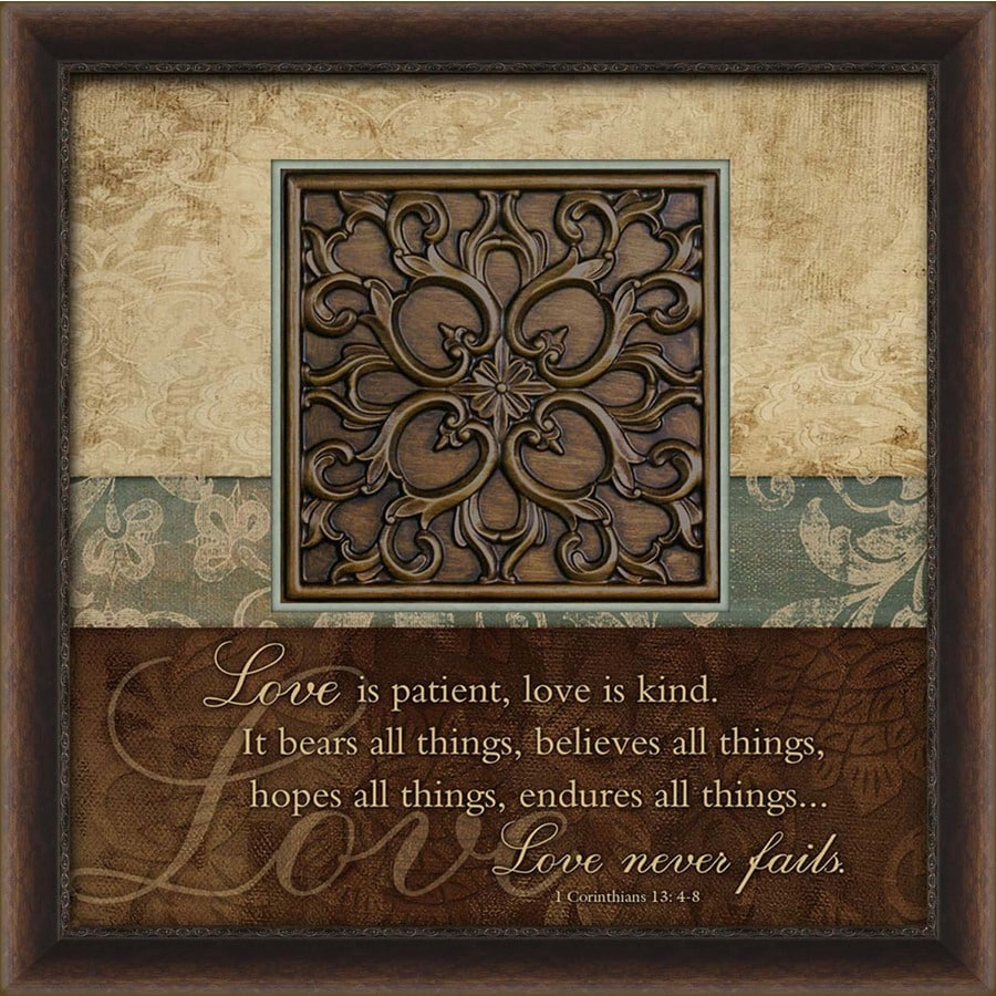 27-in W x 27-in H Inspirational Prints Wall Art