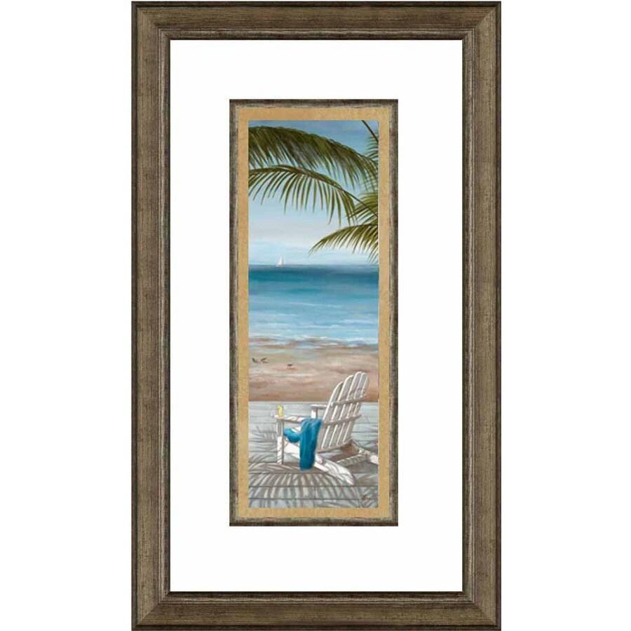 28.5-in W x 16.5-in H Coastal Framed Art