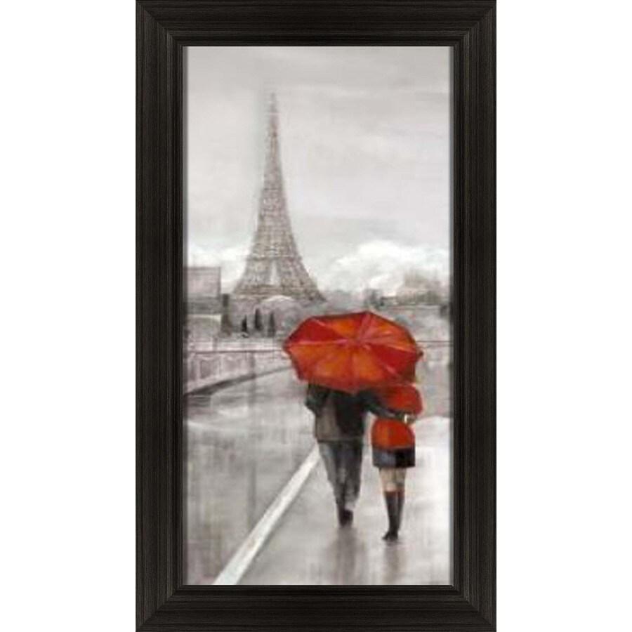 16.5-in W x 28.5-in H Framed Figurative Wall Art