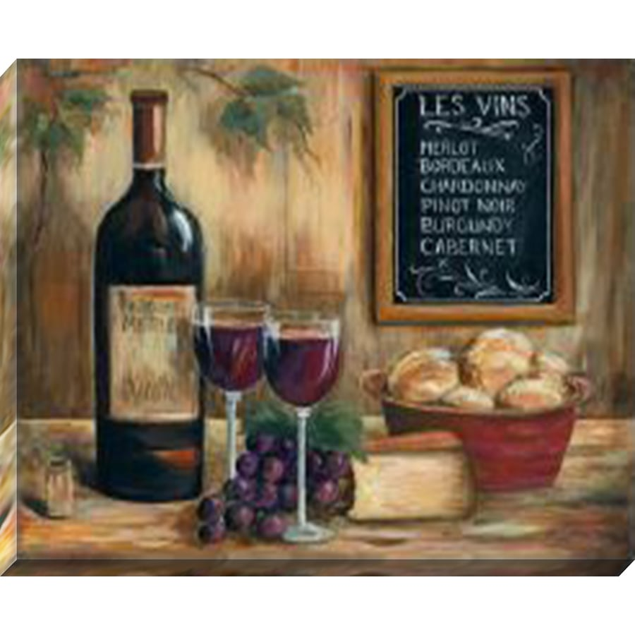 37-in W x 30-in H Canvas Kitchen Wall Art