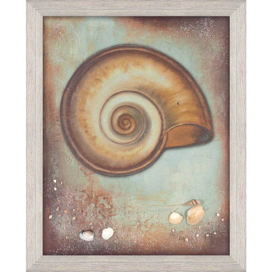 17-in W x 21-in H Framed Plastic Animals Prints Wall Art