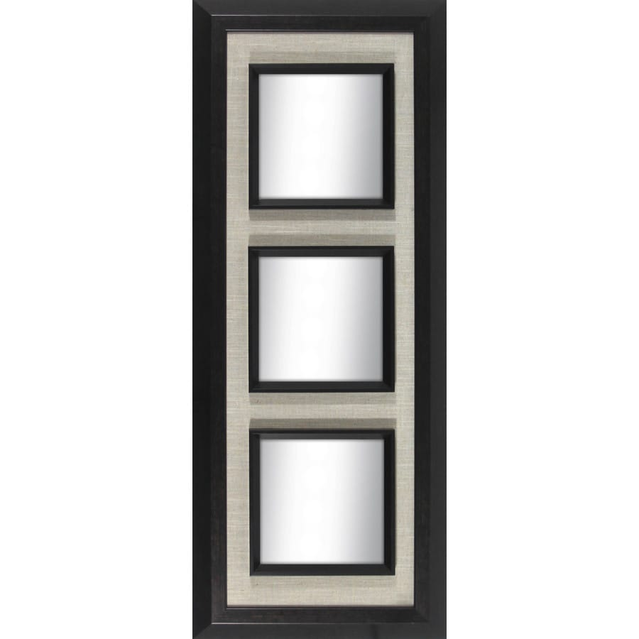 allen + roth Oil Rubbed Bronze Rectangle Framed Wall Mirror