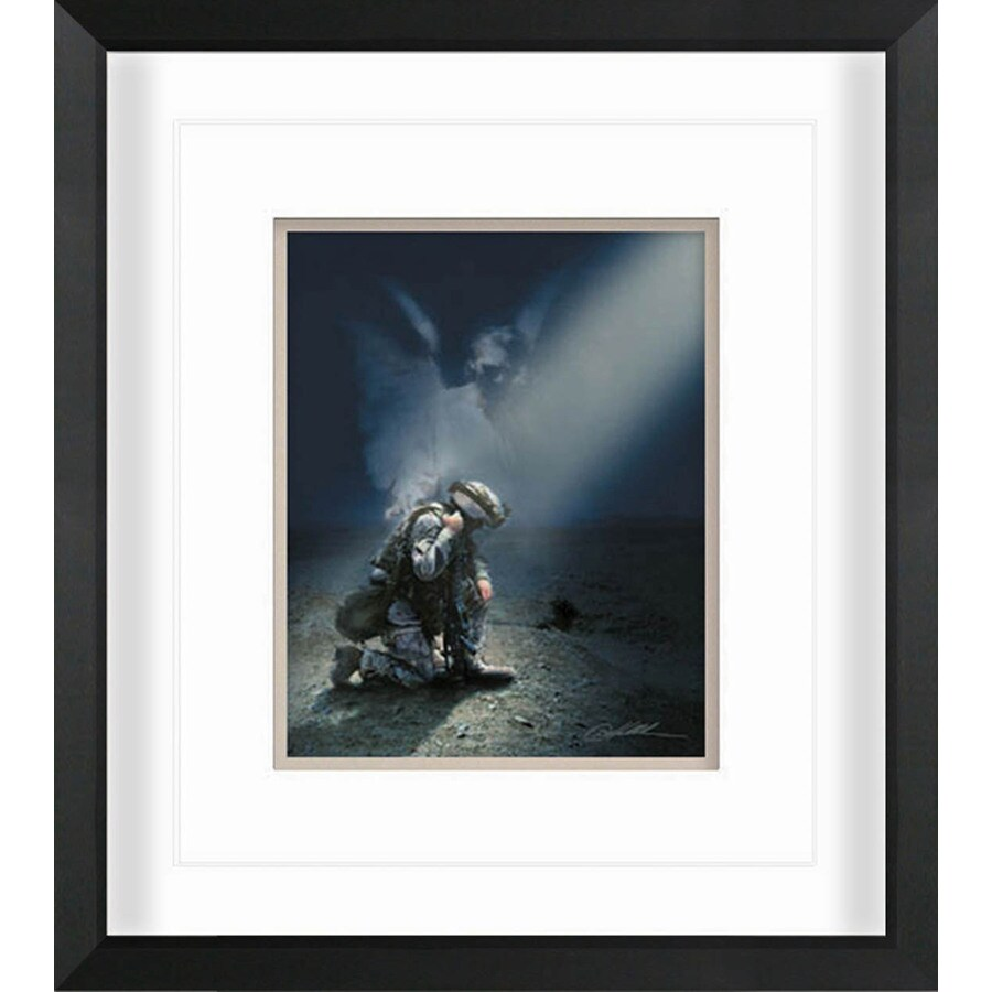 "18""W x 16""H Not Alone Framed Wall Art"