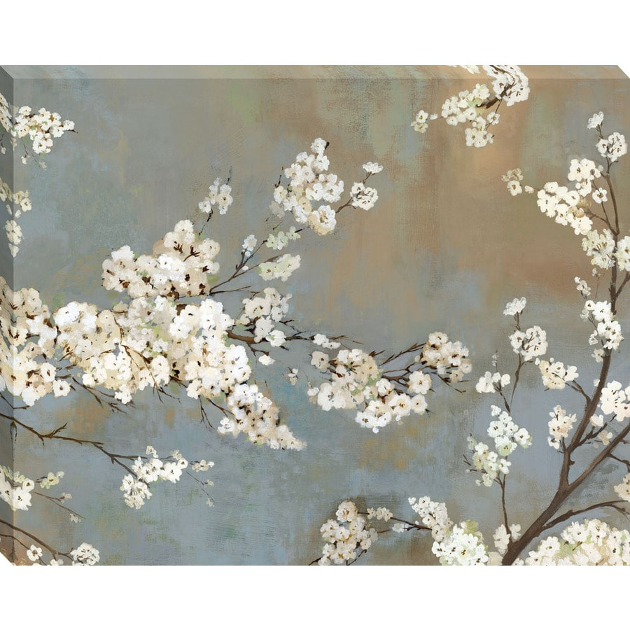 30-in W x 38-in H Canvas Floral Wall Art