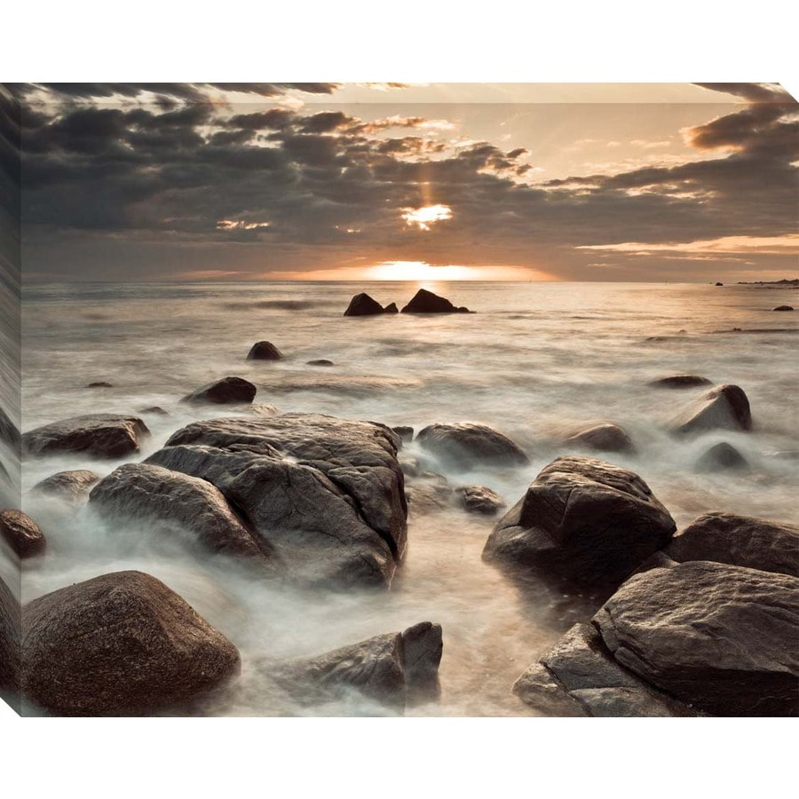 30-in W x 38-in H Canvas Photography Wall Art