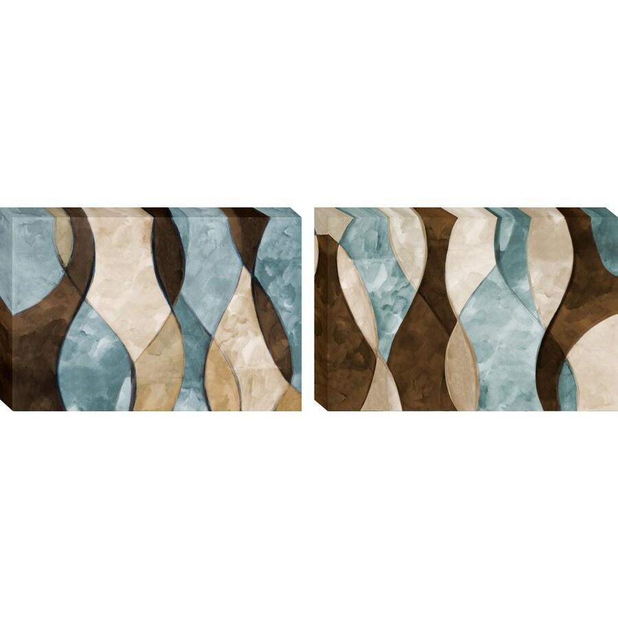 allen + roth 27-in W x 18-in H Contemporary Canvas