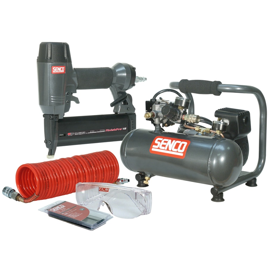 SENCO 1-Gallon 115-Volt Hot Dog Portable Electric Air Compressor