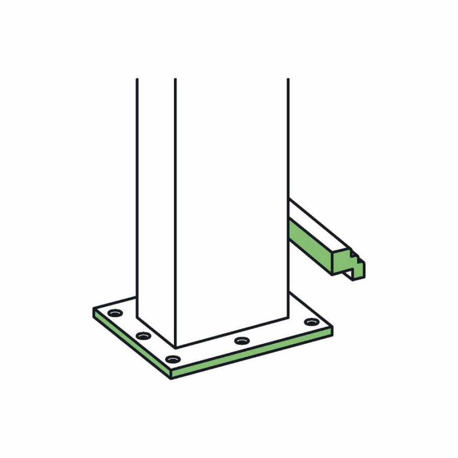 L.J. Smith Stair Systems Newel Post Installation Kit