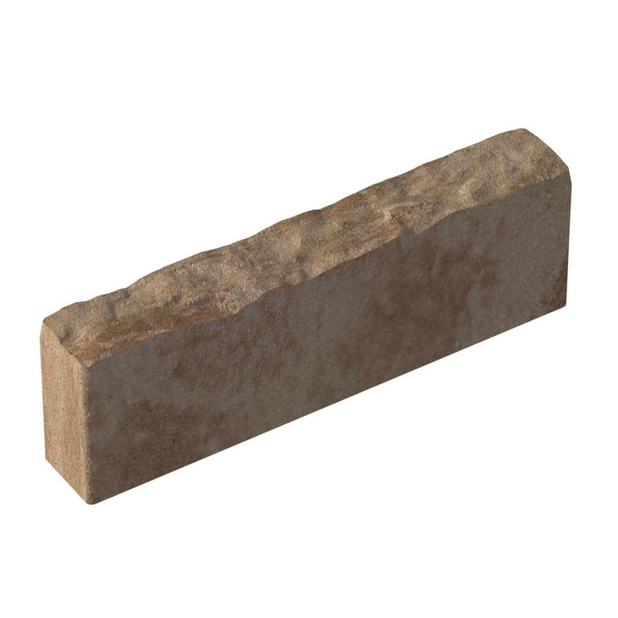 allen + roth Tan/Brown Calisto Edging Stone (Common: 5-in x 16-in; Actual: 5-in x 16-in)