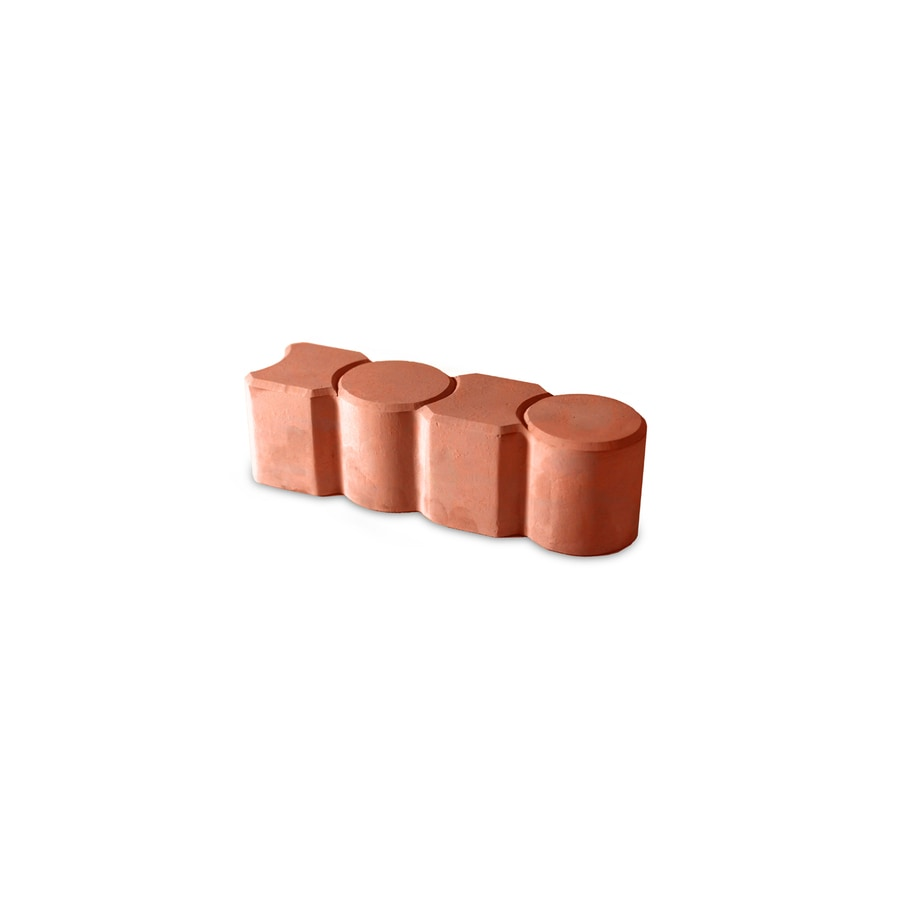 Fulton Red Grand Prize Edging Stone (Common: 3-in x 12-in; Actual: 3.1-in x 12-in)