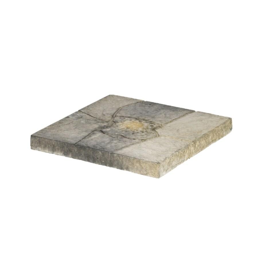 Tan Square Concrete Patio Stone (Common: 16-in x 16-in; Actual: 15.6-in x 15.6-in)