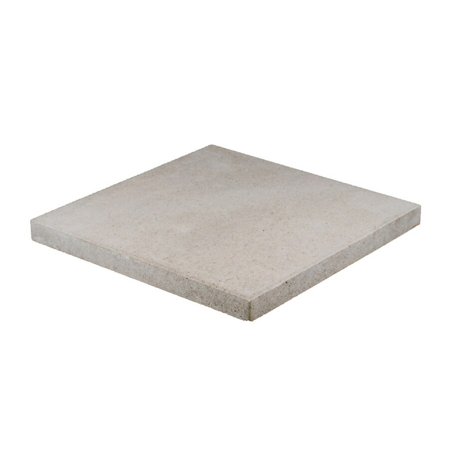 Square Gray Patio Stone Common 20 In X Actual