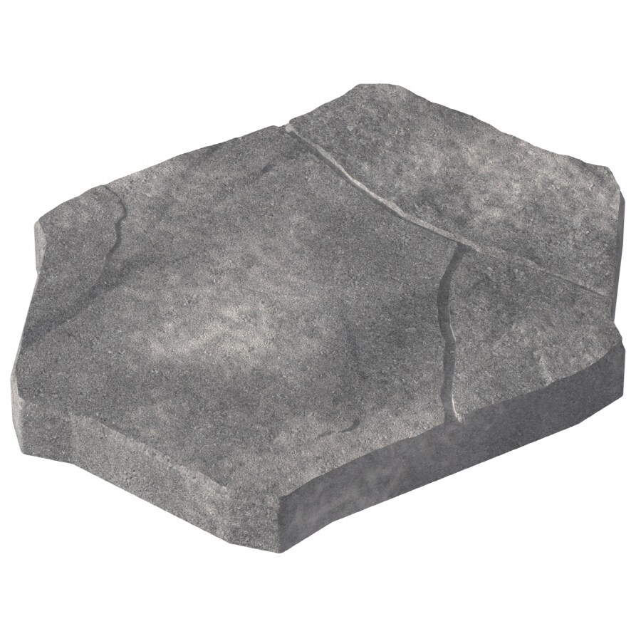 allen + roth Gray Charcoal Concerto Patio Stone (Common: 15-in x 20-in; Actual: 14.5-in H x 19.5-in L)