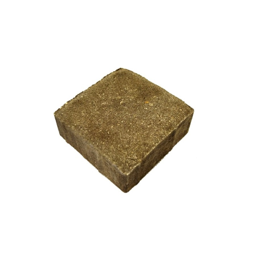 Belgard Gray Charcoal Concrete Paver (Common: 6-in x 6-in; Actual: 6.22-in x 6.22-in)