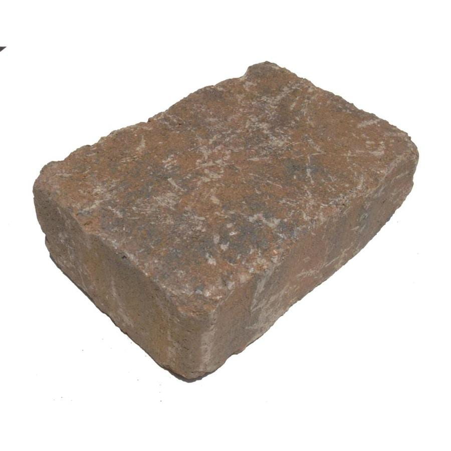Tranquil Olde Manor Concrete Retaining Wall Block (Common: 12-in x 4-in; Actual: 11.5-in x 3.9-in)