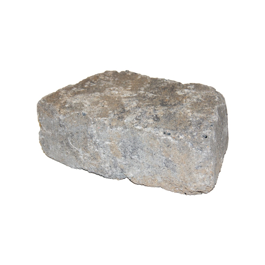 Allegheny Tumbled Concrete Retaining Wall Block (Common: 11-in x 4-in; Actual: 11.2-in x 4-in)